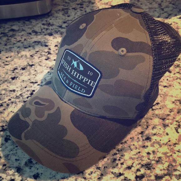 Accessories - Fish Hippie Trucker Hat- never worn 05c6399d66a